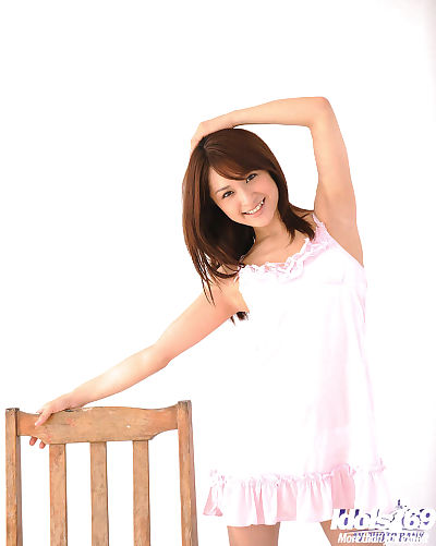 Amazingly joyful Chinese youthful with shaggy uterus uncovering her petite stoops